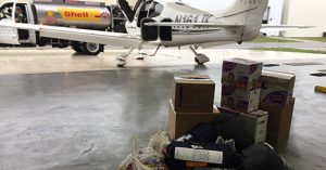 Florida Private Jet Owner Flies Supplies to Houston for Harvey Relief