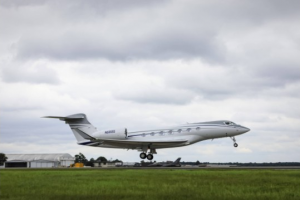 Gulfstream G600 Final Test Flight from Savannah