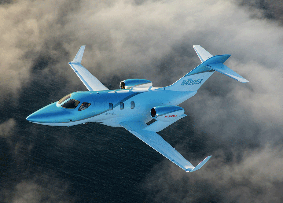 Honda Aircraft Company Unveils Upgraded HondaJet Elite