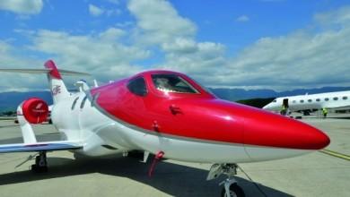 Honda Aircraft Co. Debuts HondaJet in Europe